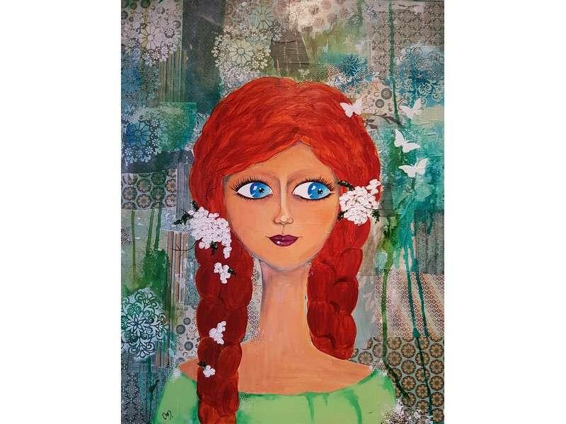 image de Exposition d'acrylique et mixed media : Entre couleurs et douceurs