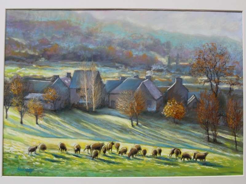 image de Exposition - La Nature - toiles aux pastels secs
