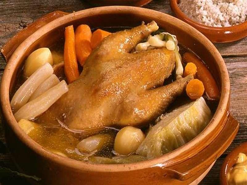 image de Repas poule au pot
