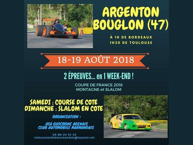 image de Course de côte automobile et 8ème slalom en côte automobile d'Argenton-Bouglon