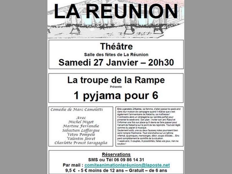 image de Théâtre avec la troupe -La Rampe-