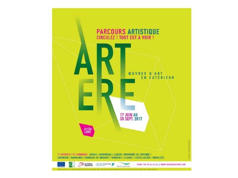 image de Parcours artistique Artère : circulez, tout est à voir!