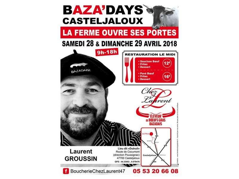 image de BAZA'DAYS : portes-ouverte à la ferme de boeufs gras bazadais