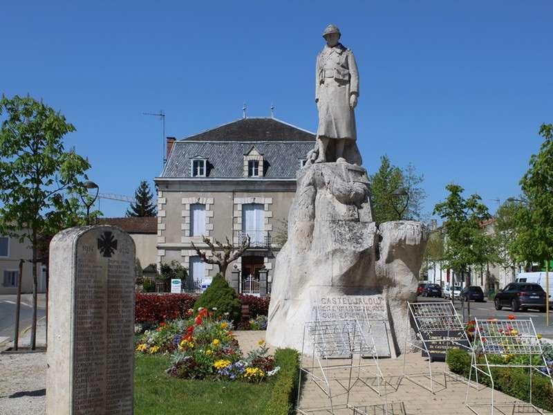 image de A l'occasion de l'armistice, rassemblement.