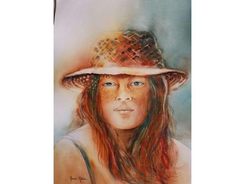 image de Exposition d'aquarelles : Palette de couleurs d'Annie Morin