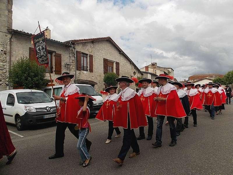 image de 24ème défilé et intronisations de la Cie des Cadets de Casteljaloux