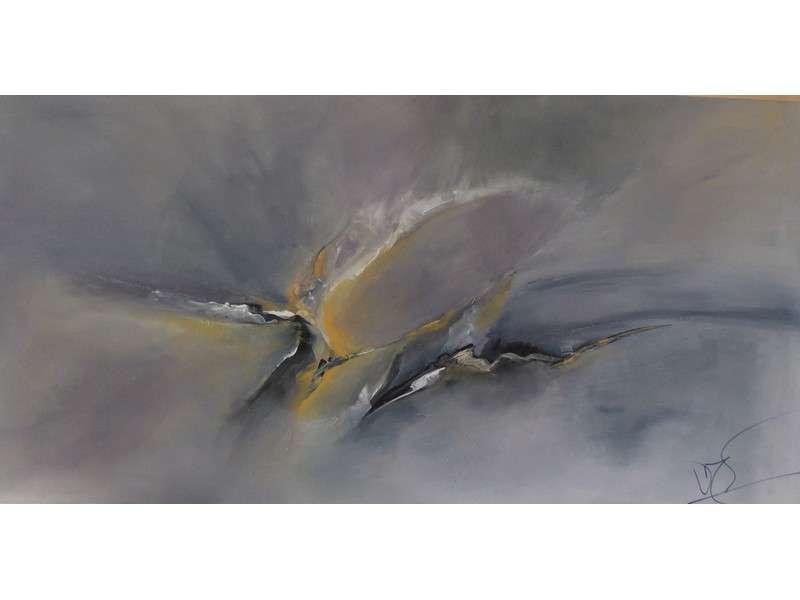 image de Exposition de toiles abstraites à l'acrylique par Véronique Ripard