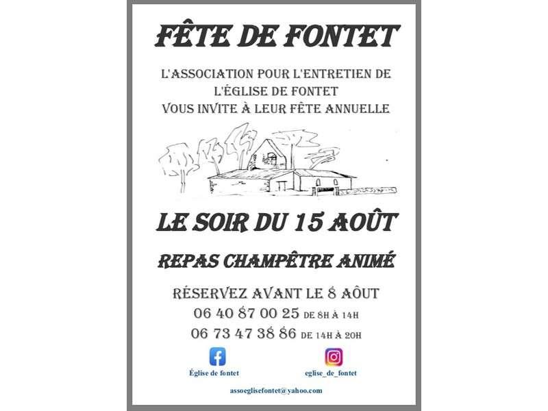 image de Fête de l'église de Fontet