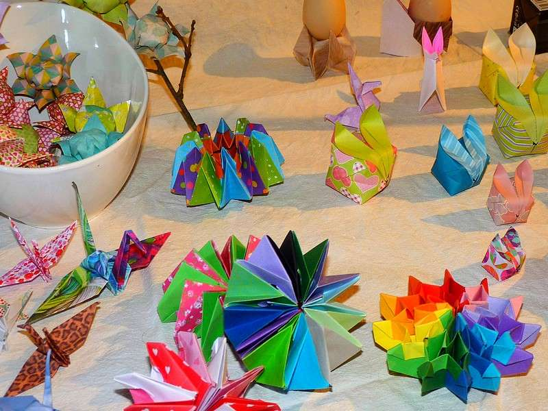 image de Origami pour Halloween, journée déguisée!
